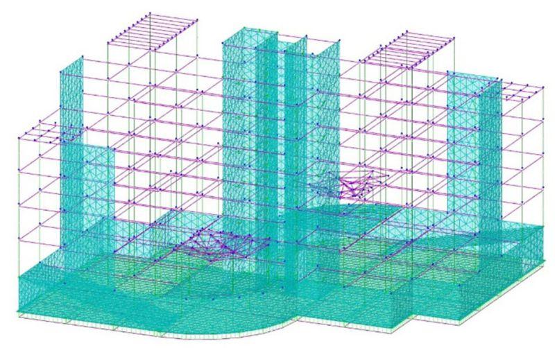modellazione strutturale - edilus